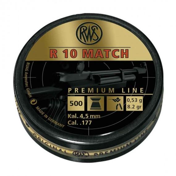 RWS R10 Match, 500 stk