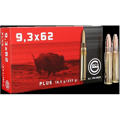 Geco Plus 9,3x62, 255 gr/16,5 g, 20 stk